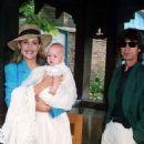Christening of Georgia May Jagger