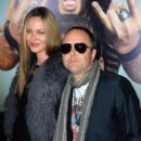 Connie Nielsen & Lars Ulrich at the premiere of 'Get Him To The Greek' on May 25, 2010 - 396 x 594