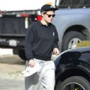 Kristen Stewart at a gas station in Los Feliz