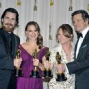 Christian Bale, Natalie Portman, Colin Firth and Melissa Leo At The 83rd Academy Awards (2011) - 454 x 302