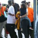 Kylie Jenner and Tyga spotted departing on a flight in Costa Rica on January 30, 2017 - 454 x 571