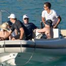 Jon Bon Jovi is picture of relaxation with shades as he catches tropical rays on boat trip during St Barts getaway - 454 x 304