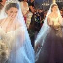 Michael Cinco honored to create 'most beautiful bride' Marian's wedding gown - 454 x 353