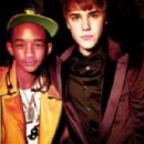 Jaden Smith and Justin Bieber