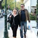 Aglaia Latsiou and Giannis Latsios: out and about