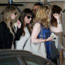 Lea Michele and Stars at Jamie-Lynn Sigler's Baby Shower