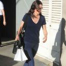 Courteney Cox – Out shopping in West Hollywood