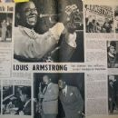 Louis Armstrong - Regards Magazine Pictorial [France] (9 May 1947) - 454 x 340