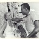 Harry Belafonte and Joan Fontaine