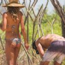 Heidi Klum in bikini at the beach in San Jose - 454 x 303