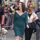 Fran Drescher – Leaves 'Good Morning America' in NY - 454 x 658