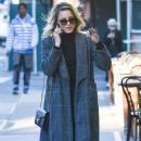 Dianna Agron: out for a walk in New York City