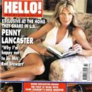 Penny Lancaster, Martine McCutcheon - Hello! Magazine Cover [United Kingdom] (28 October 2003)