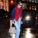 Gigi Hadid – Out on a rainy day in New York
