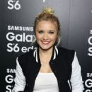 Emily Osment Samsung The Galaxy S6 and Galaxy S6 Edge Launch In La