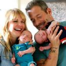 Kathryn Morris and Johnny Messner