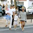 Katie Price and Leandro Penna in Spain