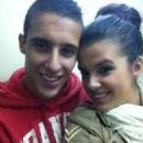 Cristian Tello and Lorena López