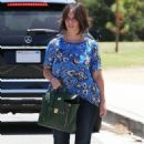 Jennifer Love Hewitt Out In Santa Monica