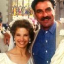 Nancy Travis and Tom Selleck