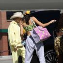 Hailey Bieber and Kendall Jenner – Seen together in Van Nuys