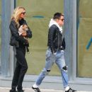 Kristen Stewart and Stella Maxwell out in New York City - 454 x 555