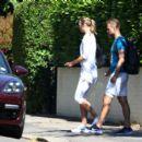 Maria Sharapova – Out in Wimbledon - 454 x 401