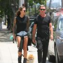 Sophia Thomalla and Gavin Rossdale