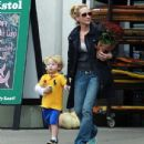 Anne Heche and Atlas Tupper in Beverly Hills - November 10, 2012