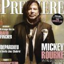 Mickey Rourke - Premiere Magazine Cover [France] (February 2009)
