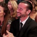 CM Punk and Lita at the WWE Hall of Fame Ceremony - 454 x 255