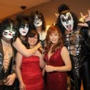 Kiss backstage at the 47th Annual Academy Of Country Music Awards held at the MGM Grand Garden Arena on April 1, 2012 in Las Vegas, Nevada - 454 x 334