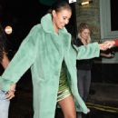 Maya Jama – Leaves S*** Fish restaurant in Mayfair - 454 x 716