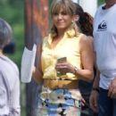 Jennifer Aniston – Filming Dumplin in Jonesboro - 454 x 681
