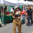 Kira Kosarin – Shopping at the Farmers Market in Studio City