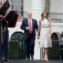 Melania Trump – White House Congressional Picnic in Washington - 454 x 296