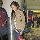 Nina Dobrev Departs From LAX Airport (July 8)