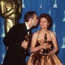Nicolas Cage and Susan Sarandon At The 68th Annual Academy Awards (1996)