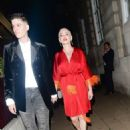 Rose McGowan – Arrives at LOVE Magazine party in London