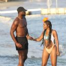 Gabrielle Union – Bikini Candids at vacation on the island of Mykonos - 454 x 653