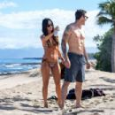 Megan Fox in Bikini on the beach in Kailua-Kona - 454 x 302