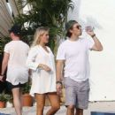 Claire Holt with Andrew Joblon Out In Miami - 454 x 680