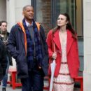 Keira Knightley film scenes for the upcoming movie 'Collateral Beauty' in New York City, New York on April 1, 2016 - 396 x 600