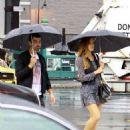 Joe Jonas out in NYC with his girlfriend Blanda Eggenschwiler (July 1)
