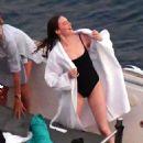 Emma Stone – Photoshoot for Louis Vuitton in Capri - 454 x 657