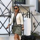 Pippa Middleton – Walking her dogs in London - 454 x 681