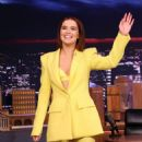 Zoey Deutch – on The Tonight Show Starring Jimmy Fallon in NYC