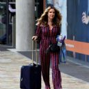 Claire Sweeney – Leaving BBC Breakfast Studios in Manchester - 454 x 510