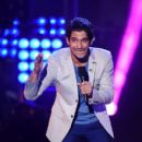 Host Tyler Posey speaks onstage at the MTV Fandom Awards San Diego at PETCO Park on July 21, 2016 in San Diego, California - 400 x 600