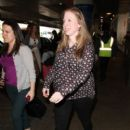 Chelsea Clinton is seen at LAX on March 31, 2016